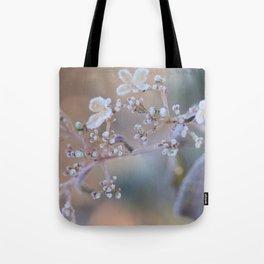 Frosty Viburnum Tote Bag