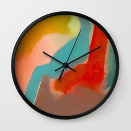 Hot and Cold Wall Clock