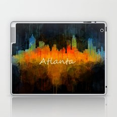 Atlanta City Skyline UHq v4 Laptop & iPad Skin