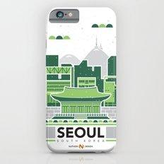 City Illustrations (Seoul, South Korea) Slim Case iPhone 6s