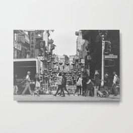 China Town SF Metal Print