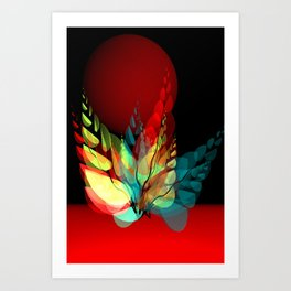 use colors in your home -3- Art Print