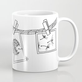 Dandelion in photos Coffee Mug