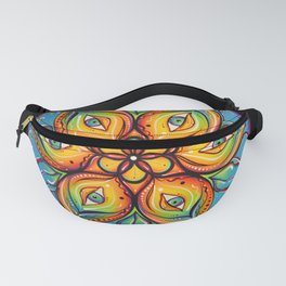 Eyes Open, Mouth Closed Fanny Pack