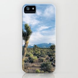 Mountain Joshua Tree | High Desert View Charleston Peak iPhone Case