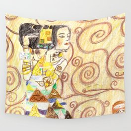 L'attente Wall Tapestry