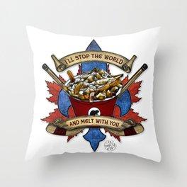 Canadian Salad Throw Pillow