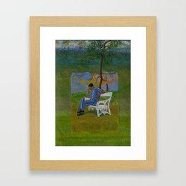 Poet Framed Art Print