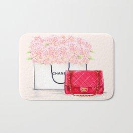 Pink Hydrangeas Coco Bath Mat