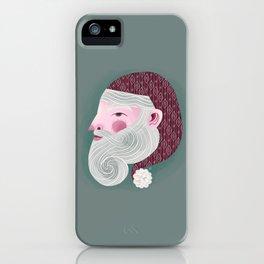 Kris Kringle iPhone Case