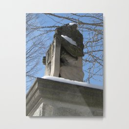 Gatekeepers of Campus Metal Print