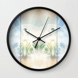 Yin Yang Energy Wall Clock