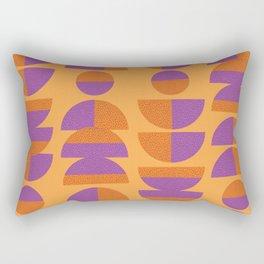 Circles Marks Rectangular Pillow