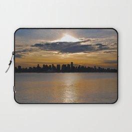 Downtown Sunset Laptop Sleeve