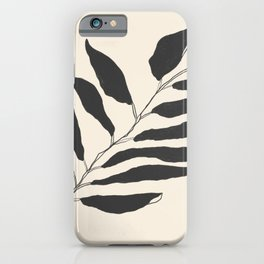 breezy palm iPhone Case
