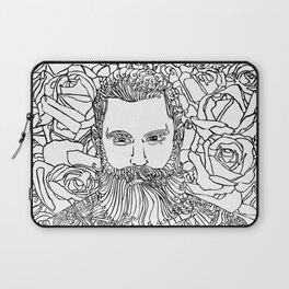 Tattooed with Roses Laptop Sleeve