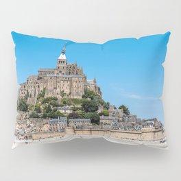 View of Mont Saint Michel, France Pillow Sham