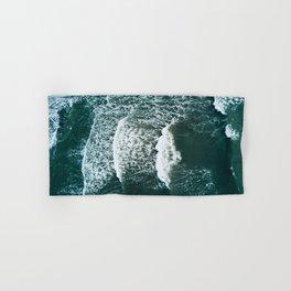 Wavy Waves on a stormy day Hand & Bath Towel