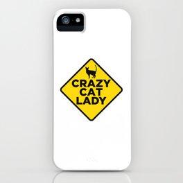 Crazy Cat Lady iPhone Case