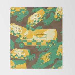 Ambulance Throw Blanket