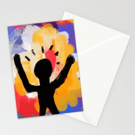 African night Stationery Cards