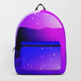 Purple Night Backpack