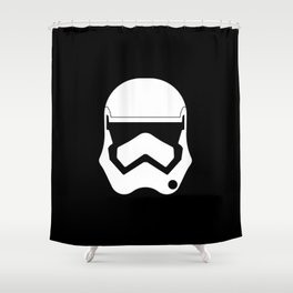The New Stormtrooper Shower Curtain