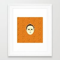 michael myers Framed Art Prints featuring Michael Myers by Kuki