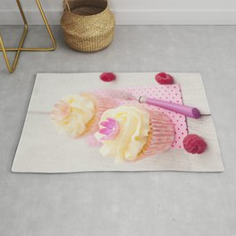 Two cupcakes Rug