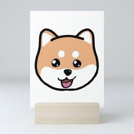 Shiba Mini Art Print