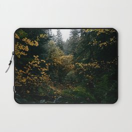 Golden Oregon Forest Laptop Sleeve