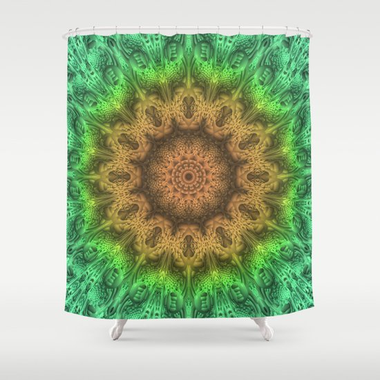 Have an Impact Mandala Shower Curtain
