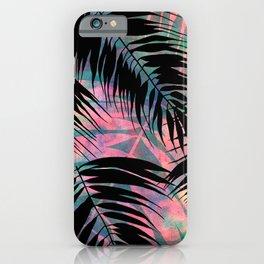 Maui Palm {Black A} iPhone Case