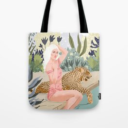 How to Train Your Leopard Tote Bag