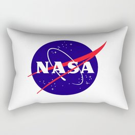 """The Official NASA """"Meatball"""" Logo (and licensed!) Rectangular Pillow"""