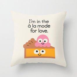 A Relationship Built On Crust Throw Pillow