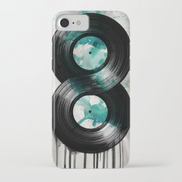 infinity vinyl iPhone Case