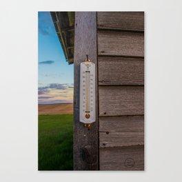 A Cool Temperature Canvas Print