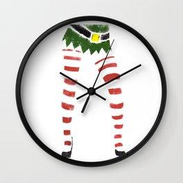 Sexy Elf Print Wall Clock