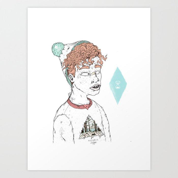 ASTORIA Art Print