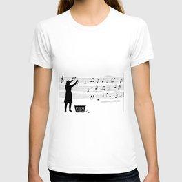 making more music T-shirt