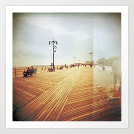 Coney Island #3 Art Print