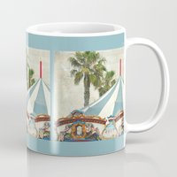 oasis Mugs featuring Carnival Oasis by Lisa Argyropoulos