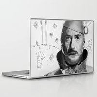 robert downey jr Laptop & iPad Skins featuring Robert Downey Jr by Pazu Cheng