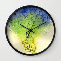 picasso Wall Clocks featuring Picasso  by Magen Works