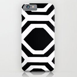 BLACK AND WHITE GEOMETRIC 2020 iPhone Case