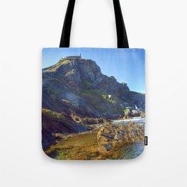 San Juan de Gastelugatxe Tote Bag