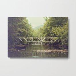 Horsepasture Bridge Metal Print