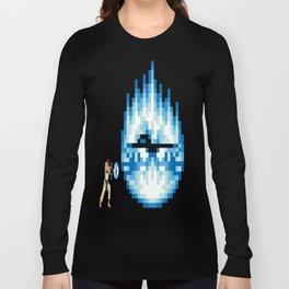Ryu Hadouken Fireball Long Sleeve T-shirt
