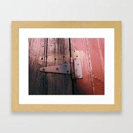 Hinges Framed Art Print